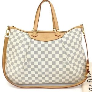 Louis Vuitton Damier Siracusa GM Crossbody Bag